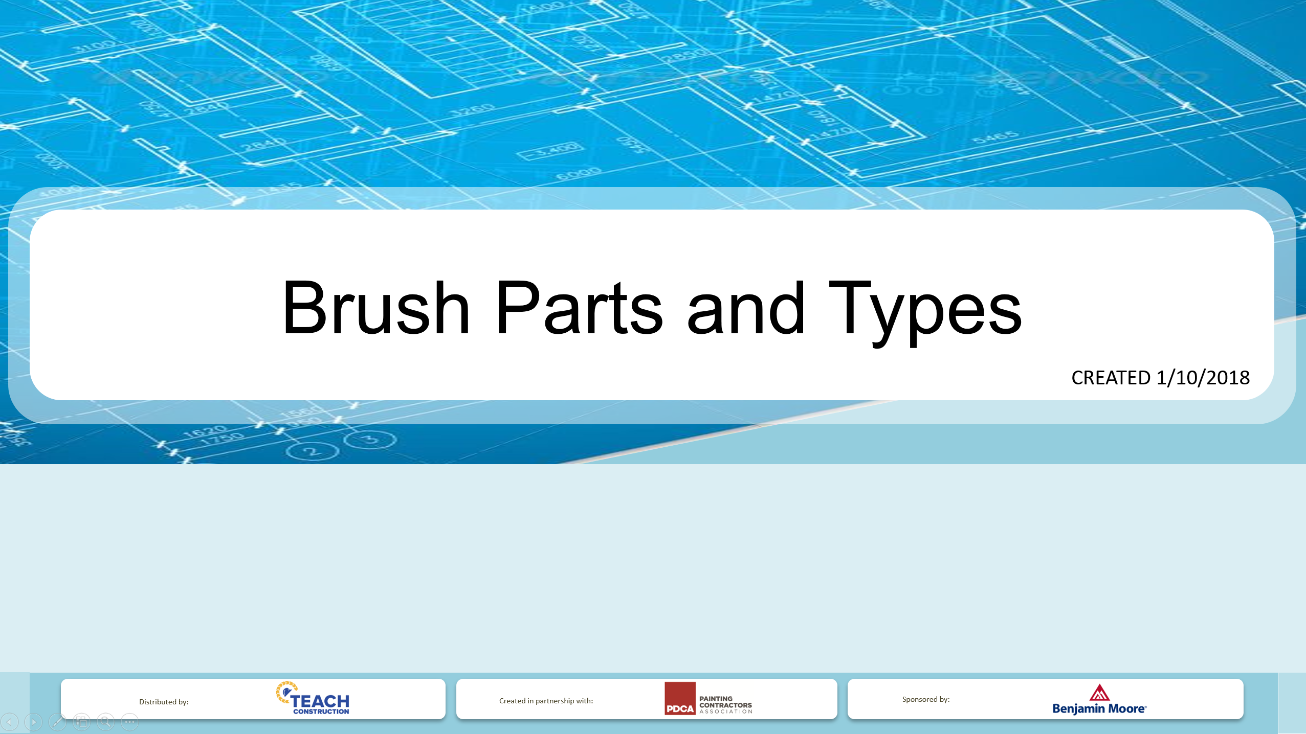 Paint Brush Parts and Types - Presentation Image