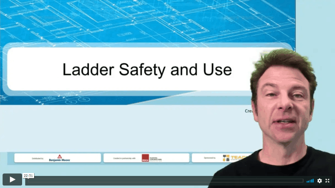 Ladder Safety Narrated Presentation Image