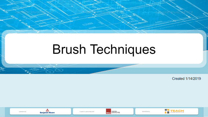 Brush Techniques - Presentation Image