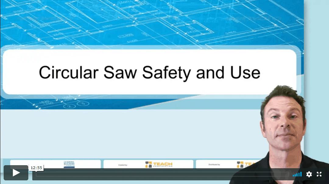 Circular Saw safety and use Image
